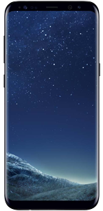 Samsung Galaxy S8 midnight-black