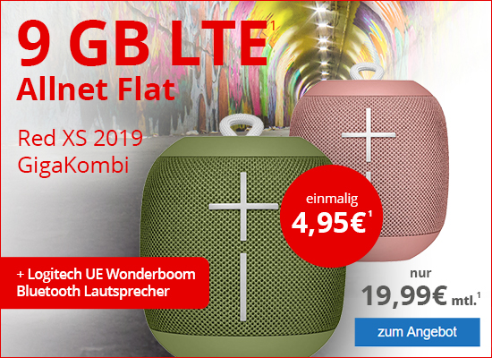 Red XS -9GB LTE + UE Wonderboom