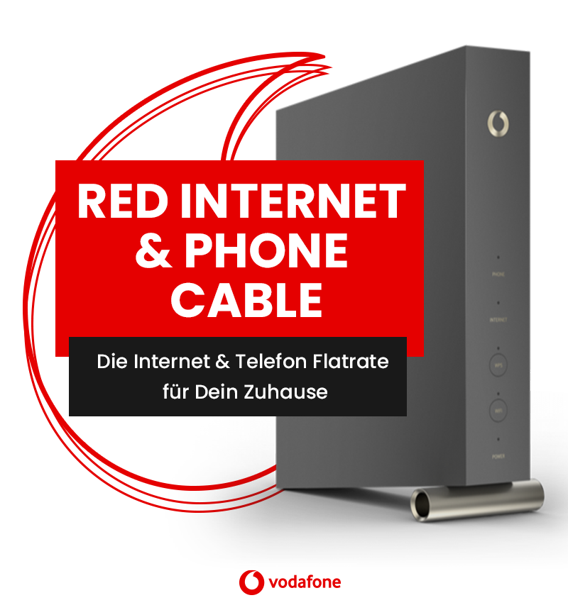 vodafone Red Internet & Phone Cable | modeo.de