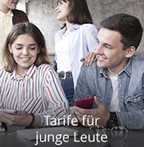 Tarife für junge Leute